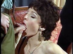 Vintage Milf in 3-Some