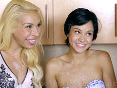 NubileFilms - Cadey Mercury, Carmen Caliente, Logan Pierce - Honeys