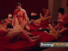 Married pair comes to a conclusion to spice up with a swingers party