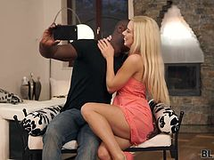 BLACK4K. Interracial porn video of young couple who loves...