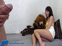 CFNM Babysitter Dick-Flashing Upskirt Humiliation