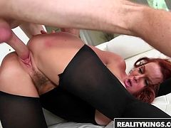 Janet Mason Levi Cash - Sexy Back In Black - Reality Kings