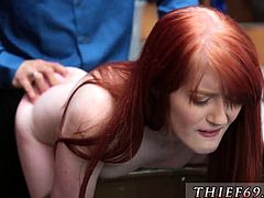 Tall red head teen and hot small blonde hd first time