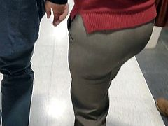 Juicy ass mature milfs in tight pants