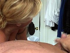 Wifey Gives Blowjob to Stranger In Our Bedroom