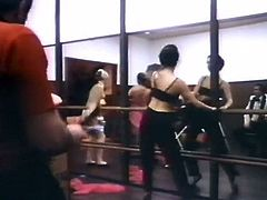 Indecent Exposure (1981) Dancer Orgy scene