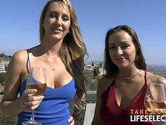 LifeSelector - How I met my girlfriend Abigail Mac and Brett Rossi