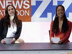 When you sit down to watch the news, you certainly do not expect to see a fuck session of two lesbians live, but this is just such a case. These lesbo hotties can't get enough pussy and love girl on girl action. Join and have fun!