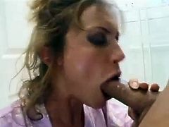 Ashlyn Gere legendary bathroom blowjob