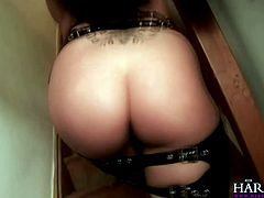 amazing brunette Lolly Badcock ass pounded