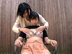 Two kinky naughty asian teens having fun