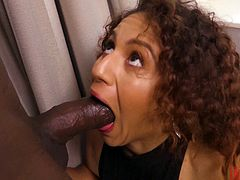 Check out this smoking hot and hungry for cock Latina getting her nice juicy ass drilled hard by a black monster cock.Watch in HD.
