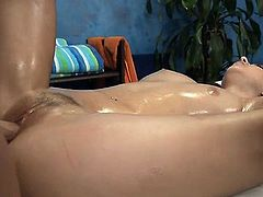Attractive young brunette diva Pressley Carter fucked male