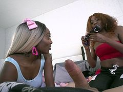 2 black girls do anal only, no pussy