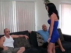 Father and Uncle Fuck Daughter - Alexis Rain