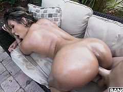 Nicole is so hot and horny that I'm barely able to hold my already hard cock in my pants for more than a minute. I have to fuck this amazing bubble butt and guarantee you an unforgettable sight. Join to enjoy!